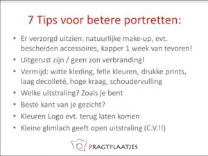 7 tips voor portretfoto's